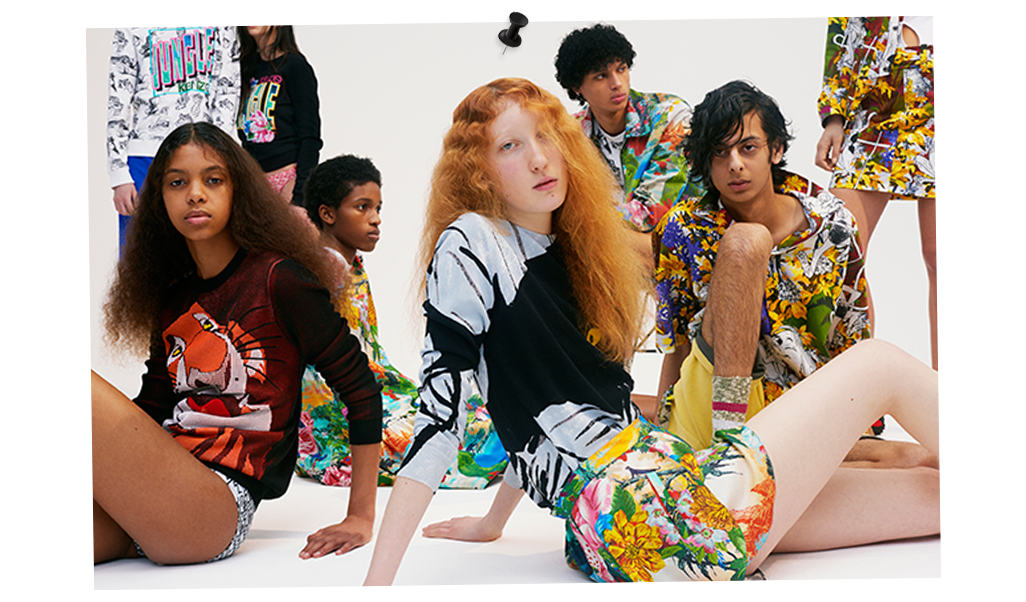 Kenzo's Jungle Fever With Disney