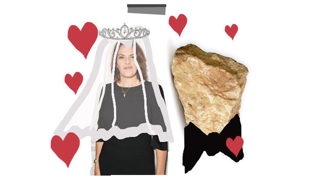TRACEY EMIN MARRIED A ROCK