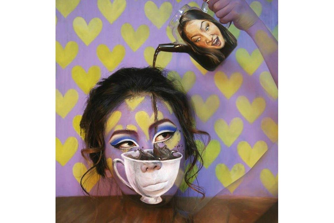 Korean artist make-up