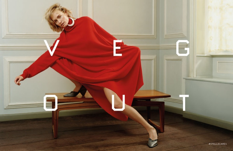 TheArtGorgeous VEG OUT - Ed Ruscha and Stella McCartney Collaboration with  Amber Valletta (2) fba0d2c458