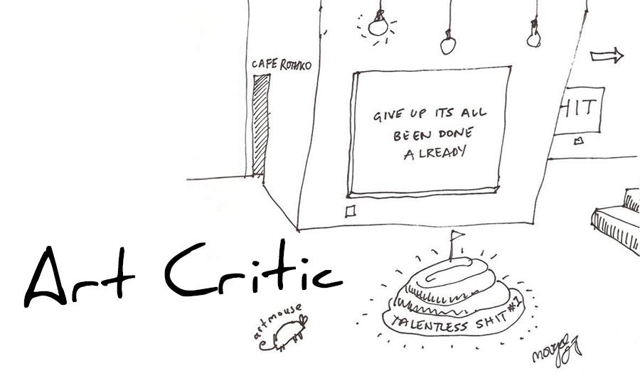 Art Slang Uncovered: Art Critic