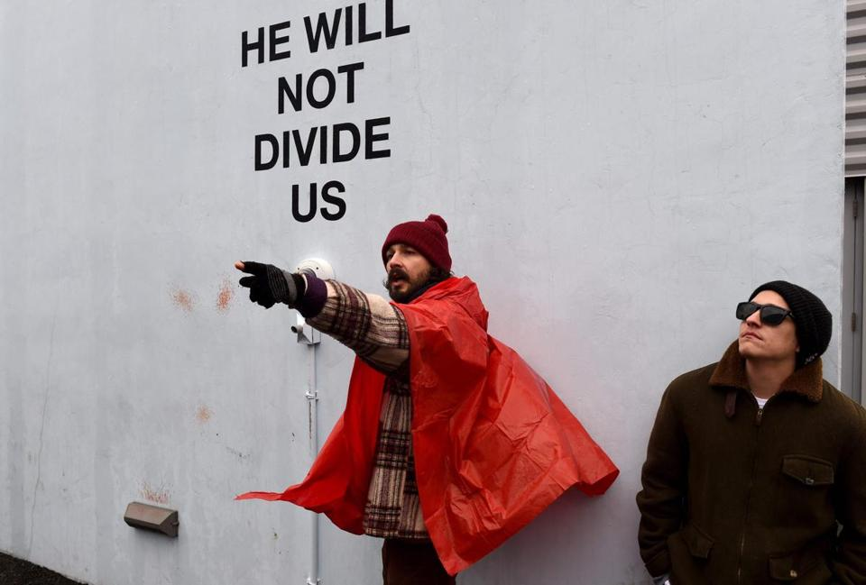 Shia-LaBeouf-he-will-not-divide-us_theartgorgeous