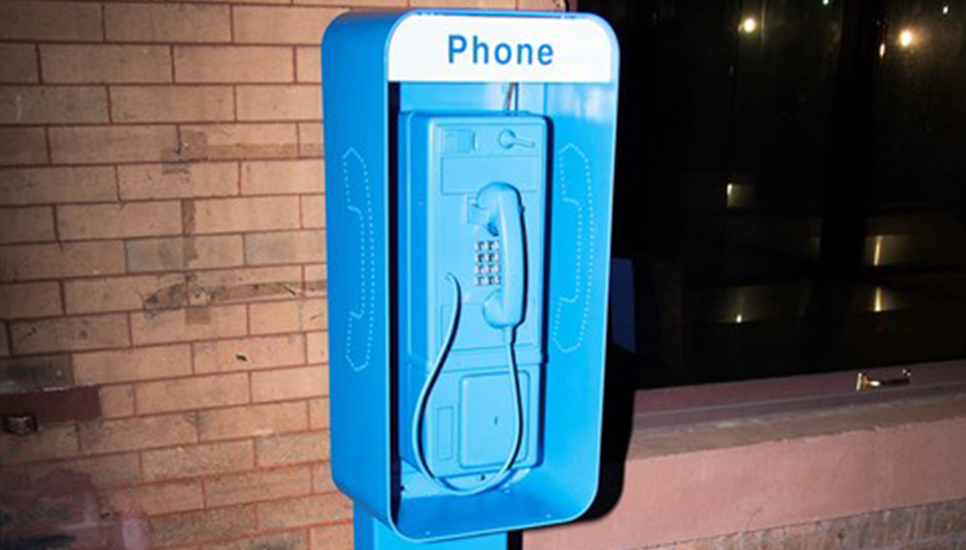 Whom to Call From This Mysterious Blue Phone Box That Popped up in NYC?