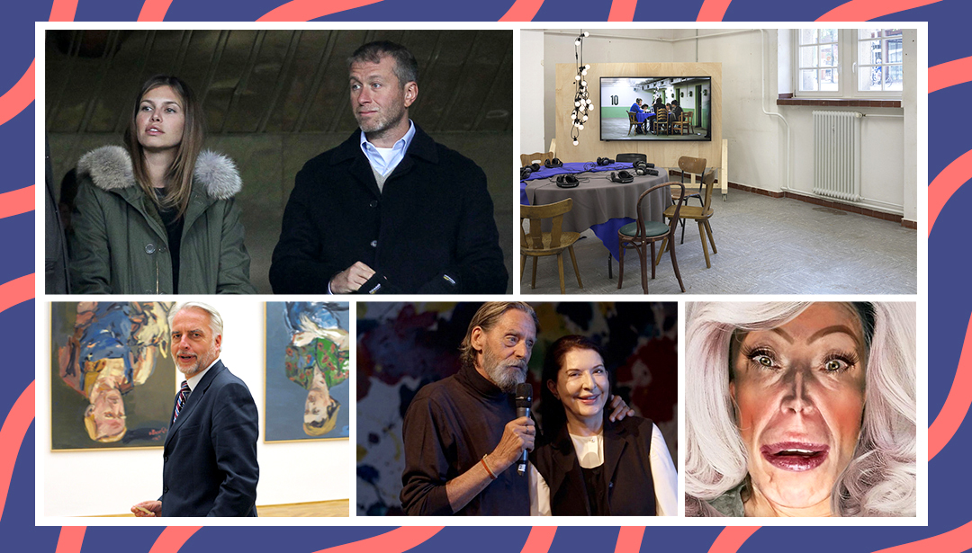 The End of Abramokova :  A Week of Hello's and Goodbye's in the Art World