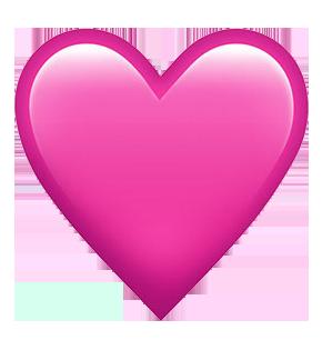 PinkHeartEmoji_theartgorgeous