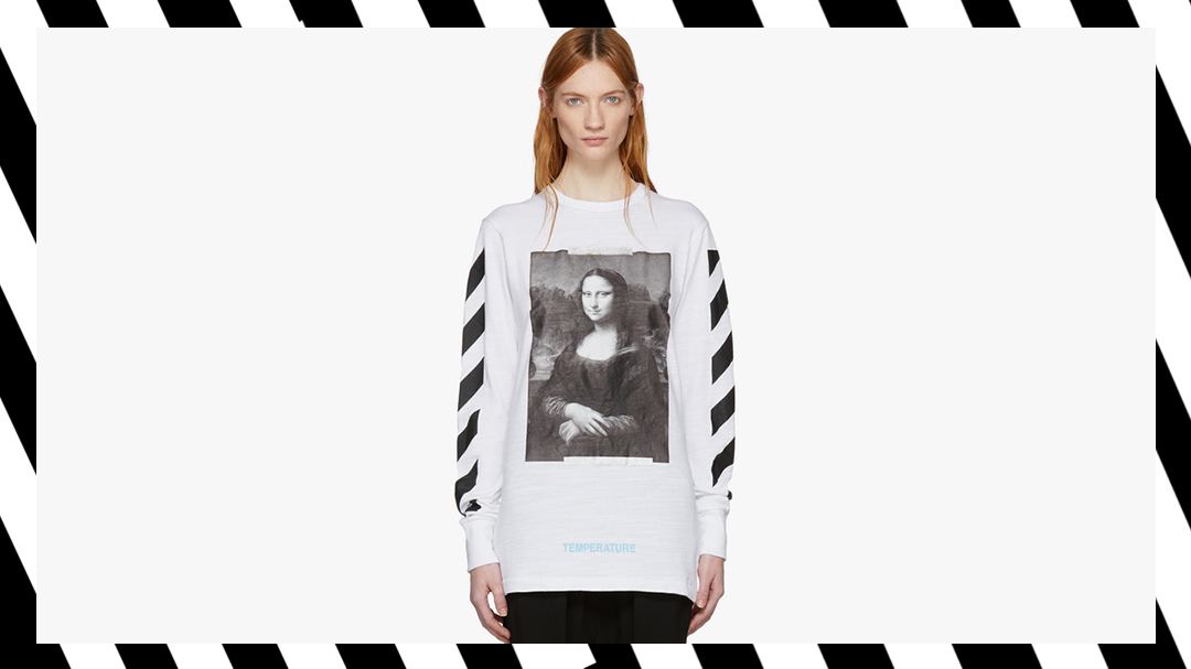 Off-White's New Release Includes Mona Lisa Print Tees