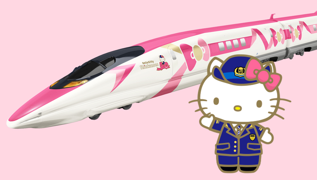 Hello Kitty gets her own train in Japan