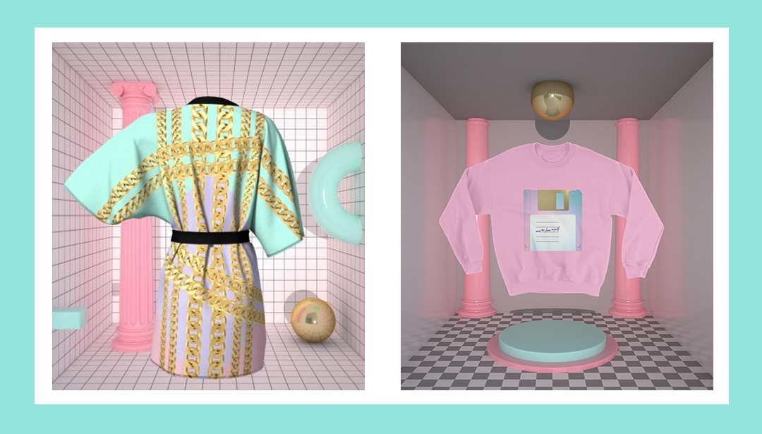 This Swedish artist is killing it with her pastel-hued aliens and robot gear