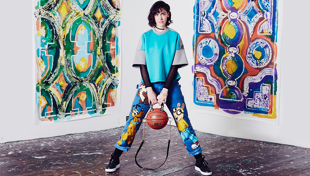 The Artist Who Re-defines Basketball