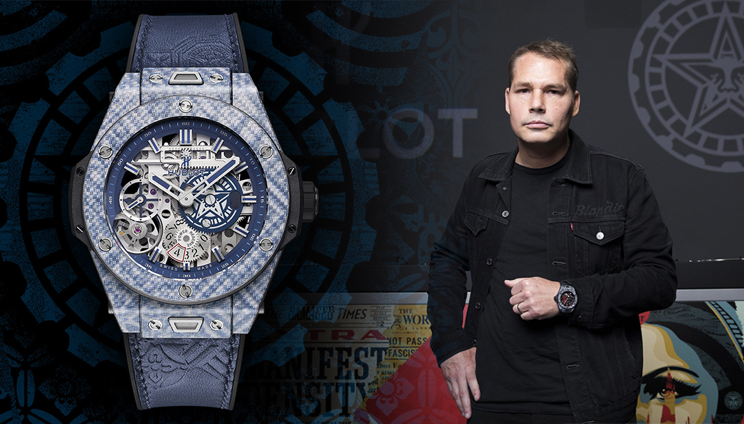 Hublot Launches Collaboration with Shepard Fairey