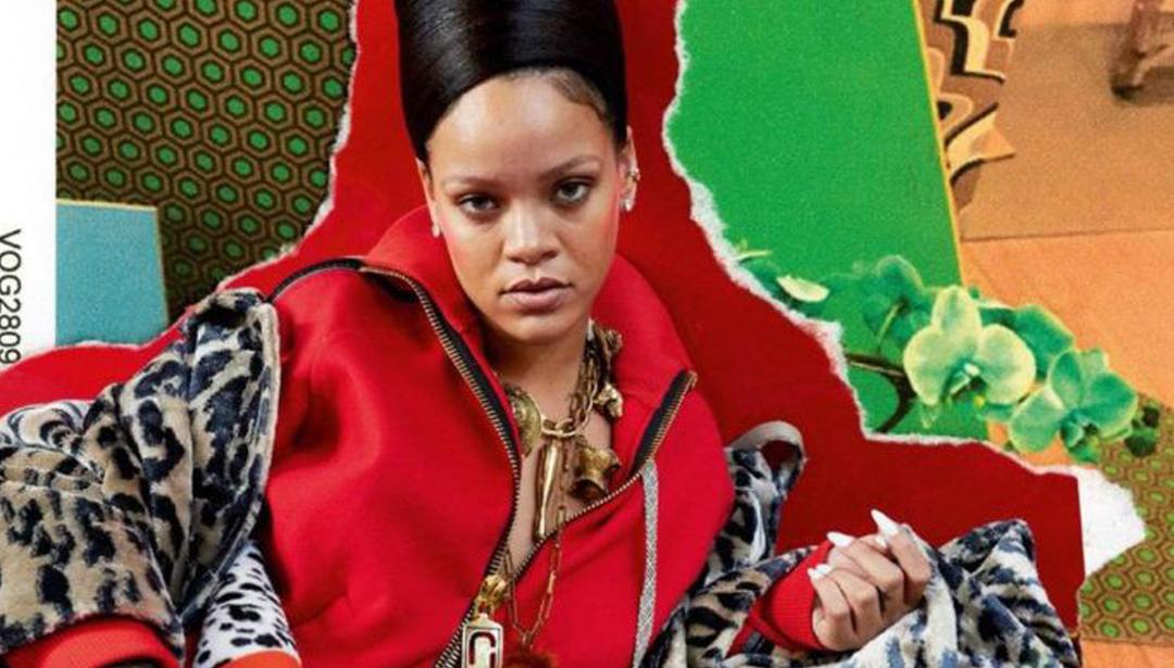Rihanna's Vogue Cover Stirs Up the Net