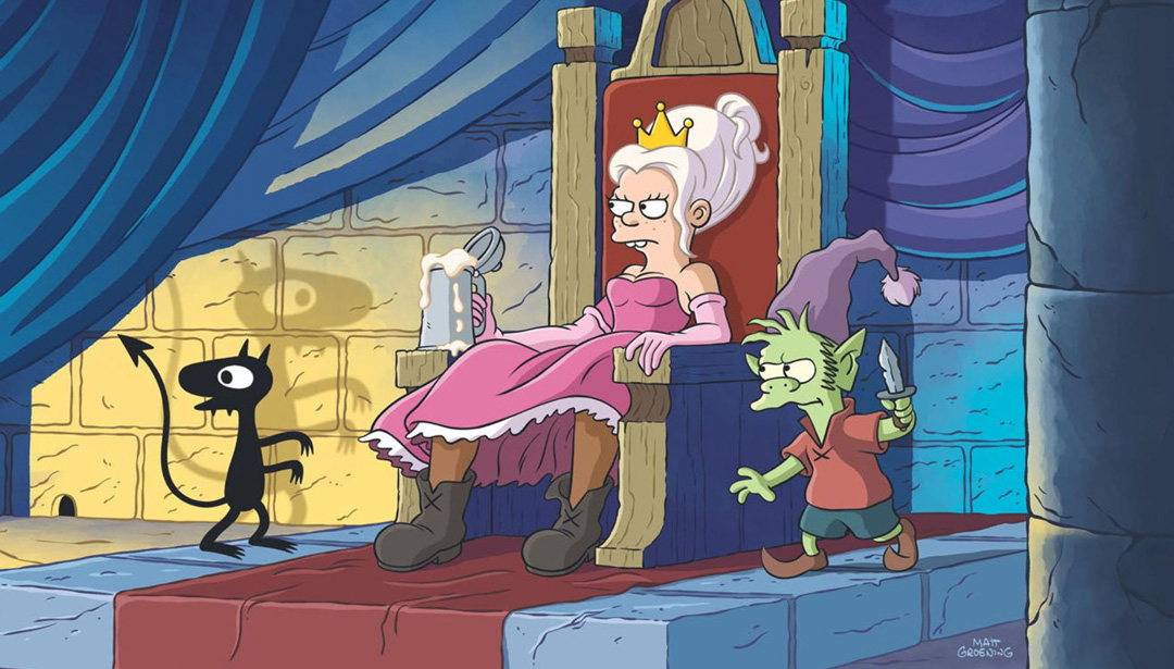The Simpsons Creator Creates New Netflix Show with Anti-Princess Protagonist