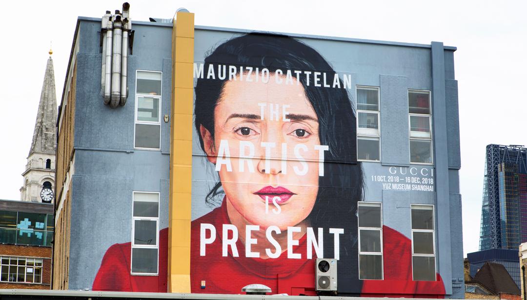 Gucci Honors Marina Abramovic with Murals