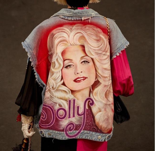 Dolly at Gucci