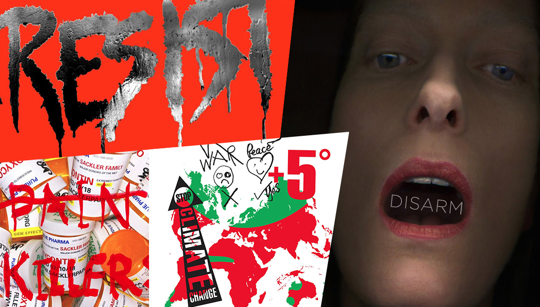 Vivienne Westwood and Tilda Swinton's Newly Minted Protest Posters