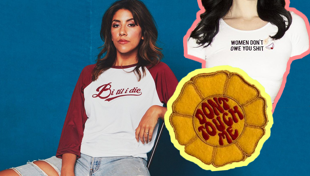 Whitney Bell Makes T-Shirts for the Boss Bitch