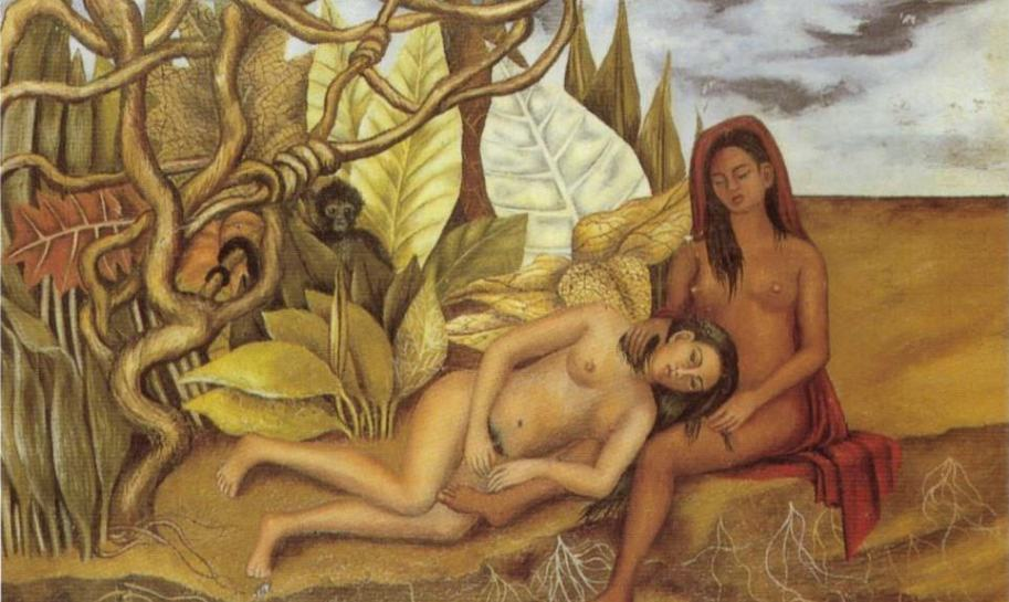 two-nudes-in-the-forest-the-earth-itself