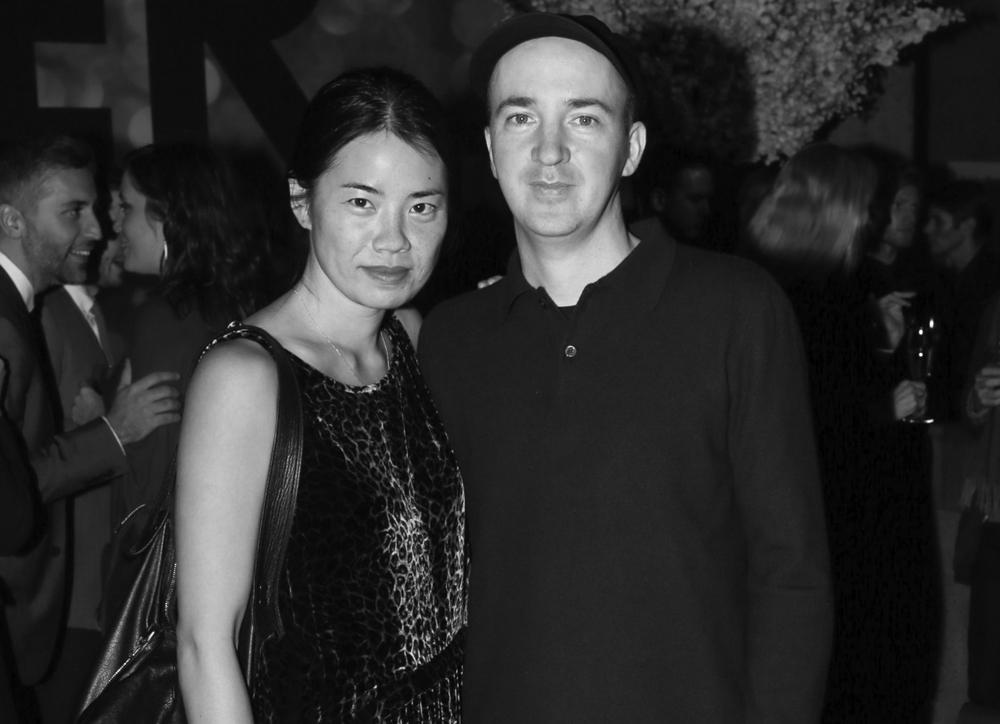 "Julie Chen, Brian ""Kaws"" Donnelly"