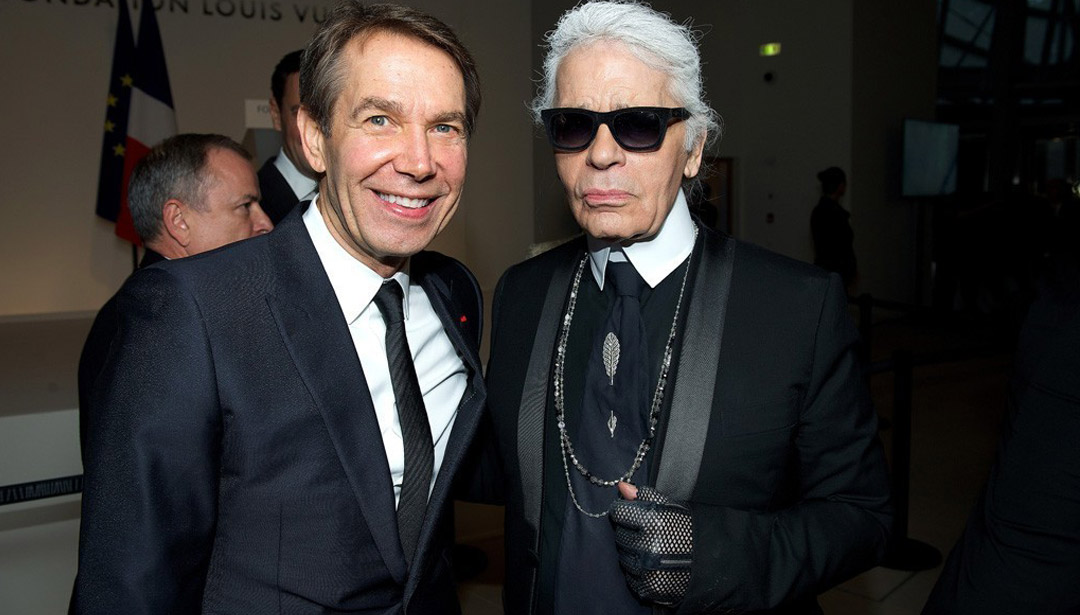 Karl Lagerfeld and the art world - an overview.