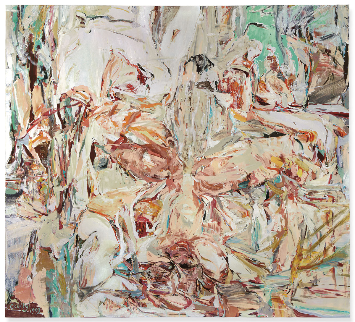 Christie's Lot 11 - Cecily Brown, Night Passage_artgorgeous