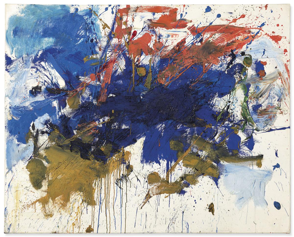 Christie's Lot 25 - Joan Mitchell, Blue Michigan_artgorgeous