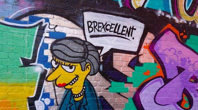Anti-Brexit Street Art Is Taking over London