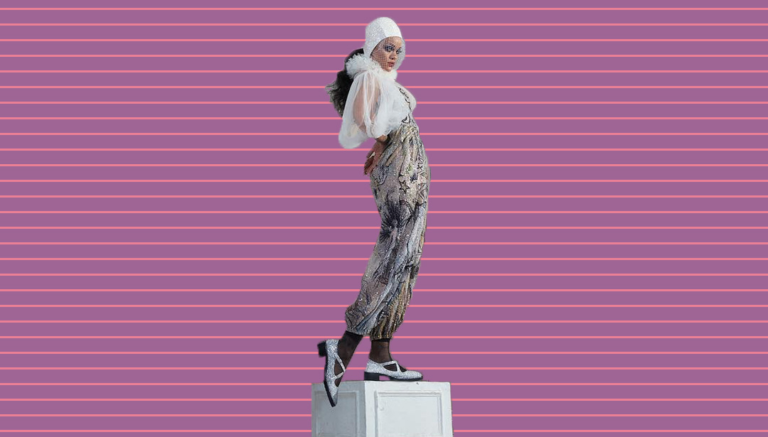 Rihanna Becomes a Marble Sculpture for Latest Photo Shoot