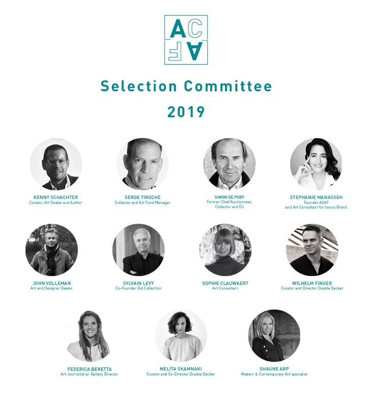 ACAF_Selection committee 2019