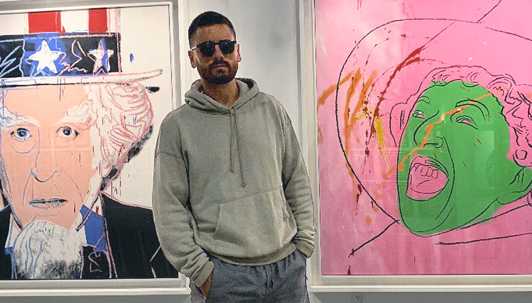 Is Scott Disick the Next Star Art Advisor?