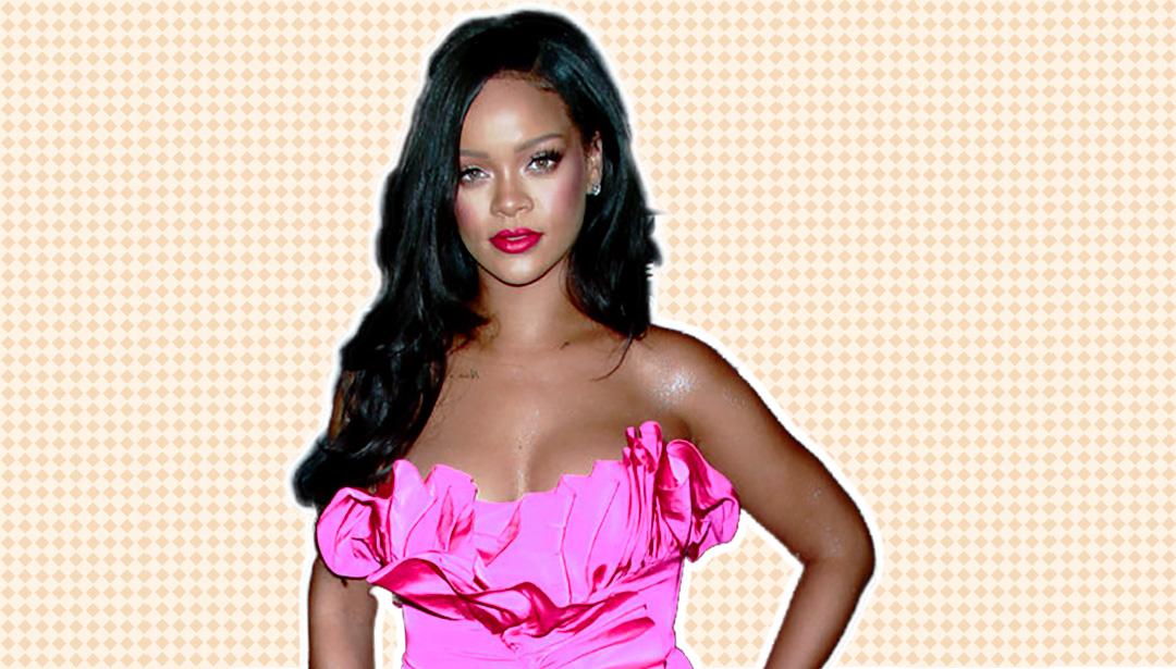 Rihanna Shot Her Own Fenty Line