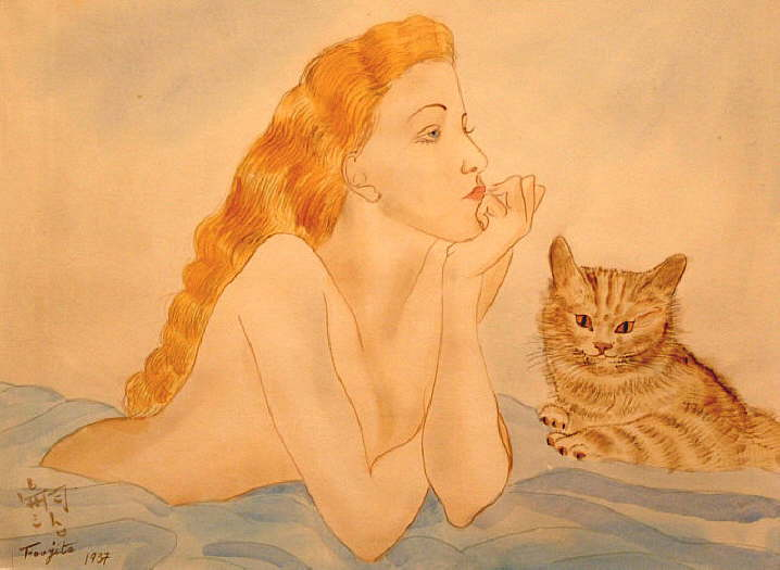 woman-and-cat-1937
