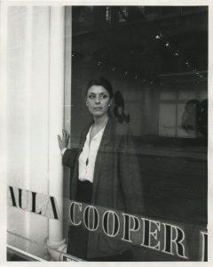 paula cooper in her gallery