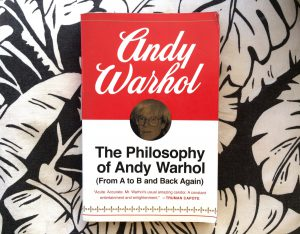 The philosophy of andy warhol book