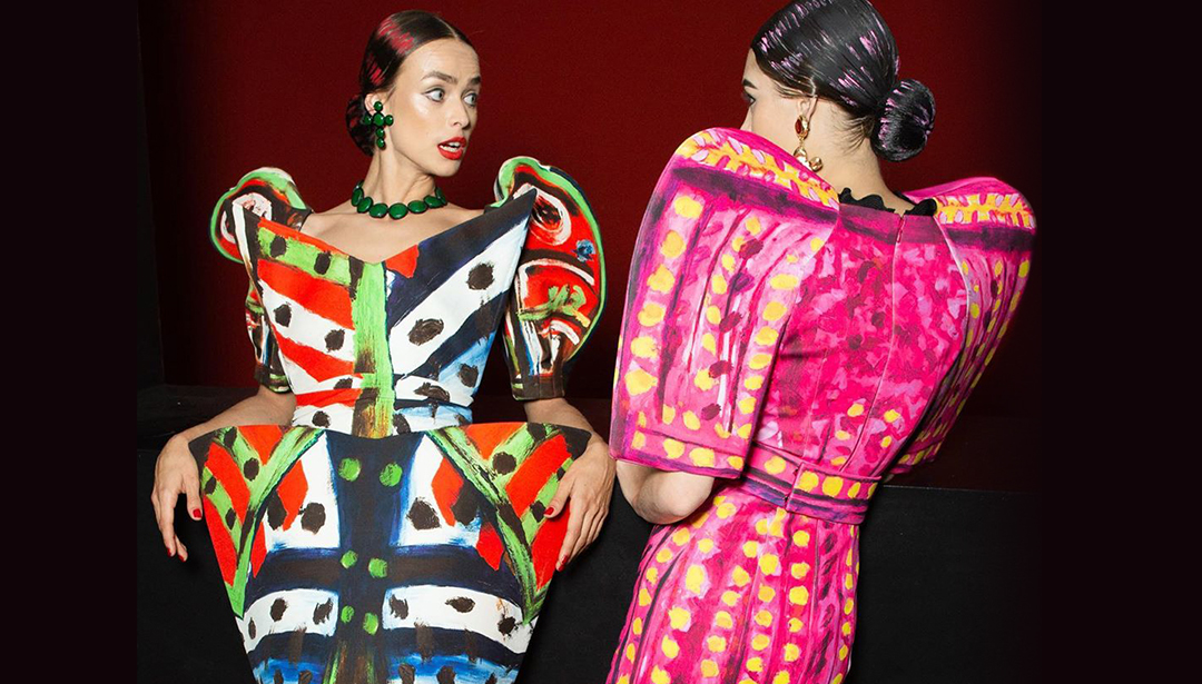 Moschino Takes Inspo From Picasso At Milan Fashion Week