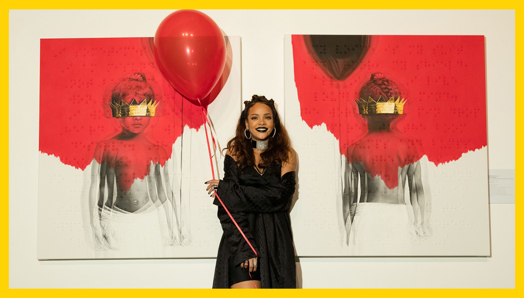 Rihanna's Connection To The Art World