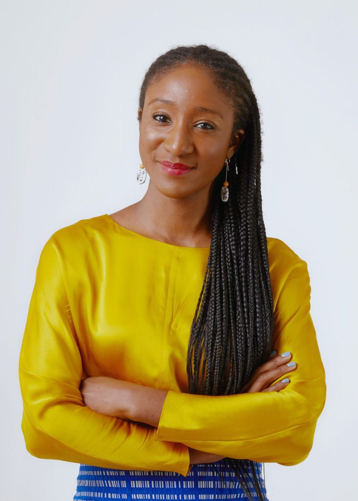 Portrait of Maryam Lawal. Image courtesy of Luke Walker and HAART