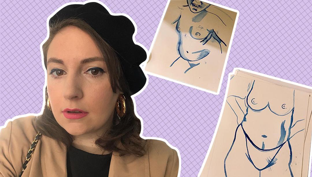 Lena Dunham's Connection To The Art World