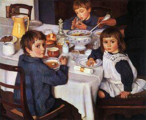 at-breakfast-1914