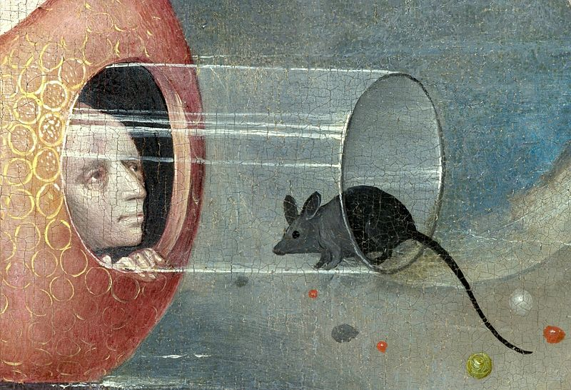 800px-Bosch,_Hieronymus_-_The_Garden_of_Earthly_Delights,_central_panel_-_Detail_man_with_mouse_(lower_left)