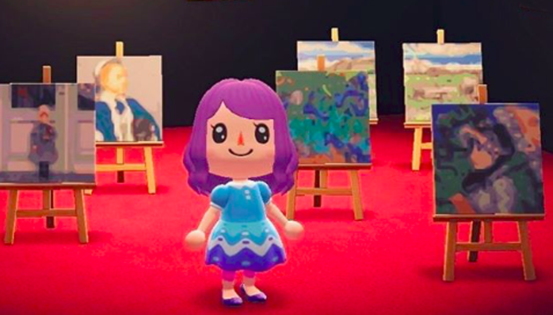 #GoodNews - Animal Crossing Gets An Arty Makeover