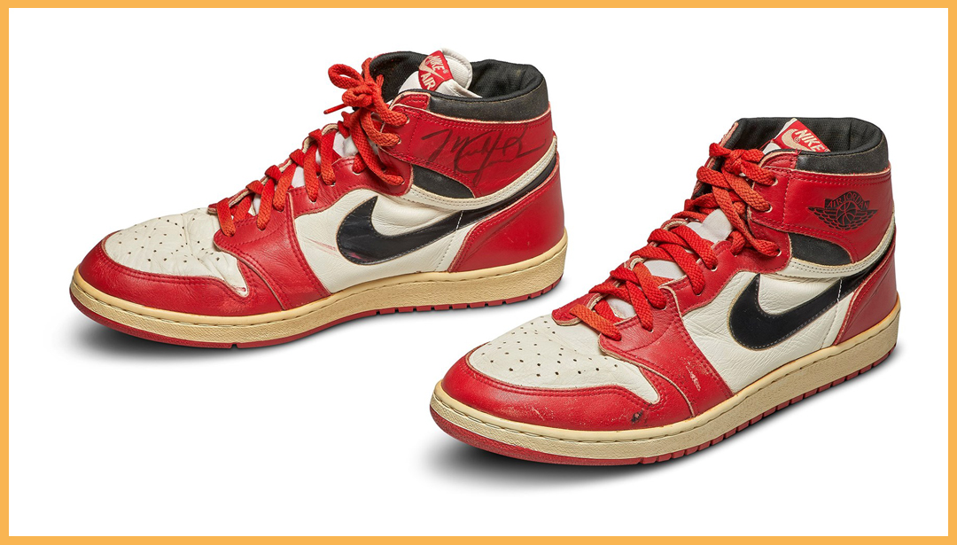 Michael Jordan's Game-Worn, Nike Air Jordan Soar to $560,000