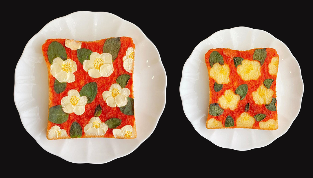 This art inspired food is too pretty to eat!