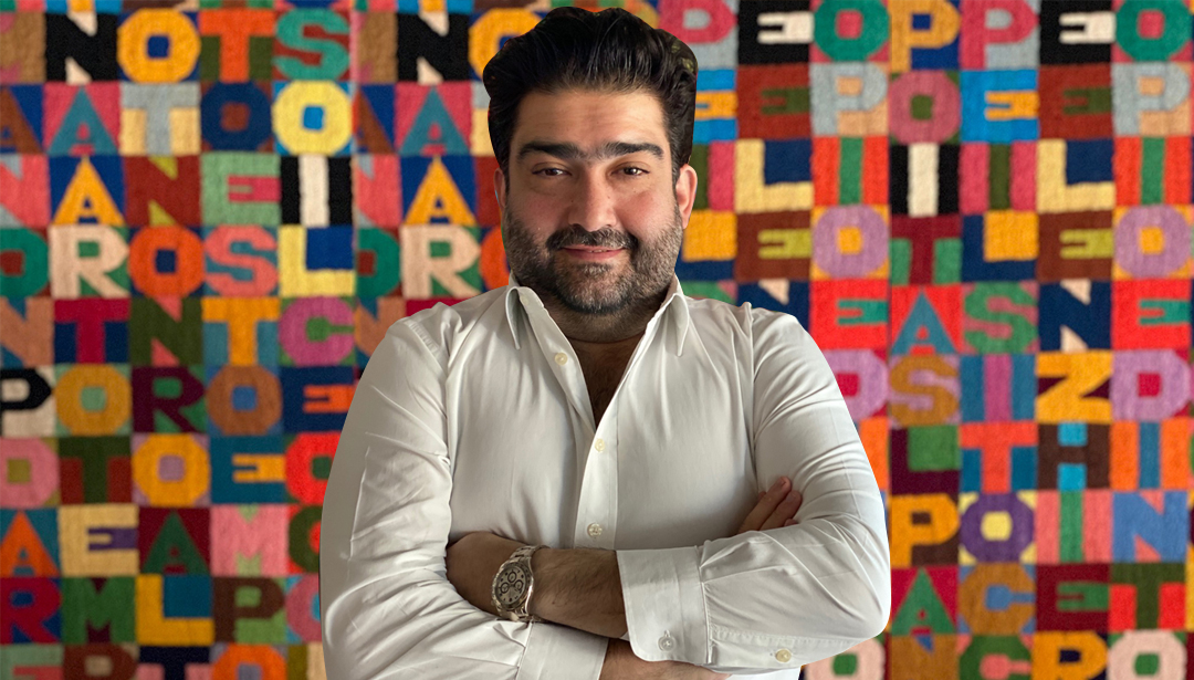 5 Minutes with VOLTA Director, Kamiar Maleki