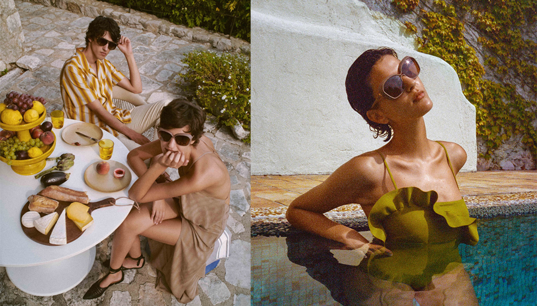 neubau eyewear Teams up With Female Creatives for French Riviera Capsule