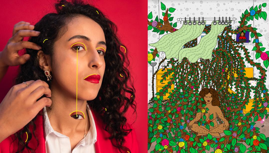 Inti Bint Is Using Her Art To Shine A Light On Yemen