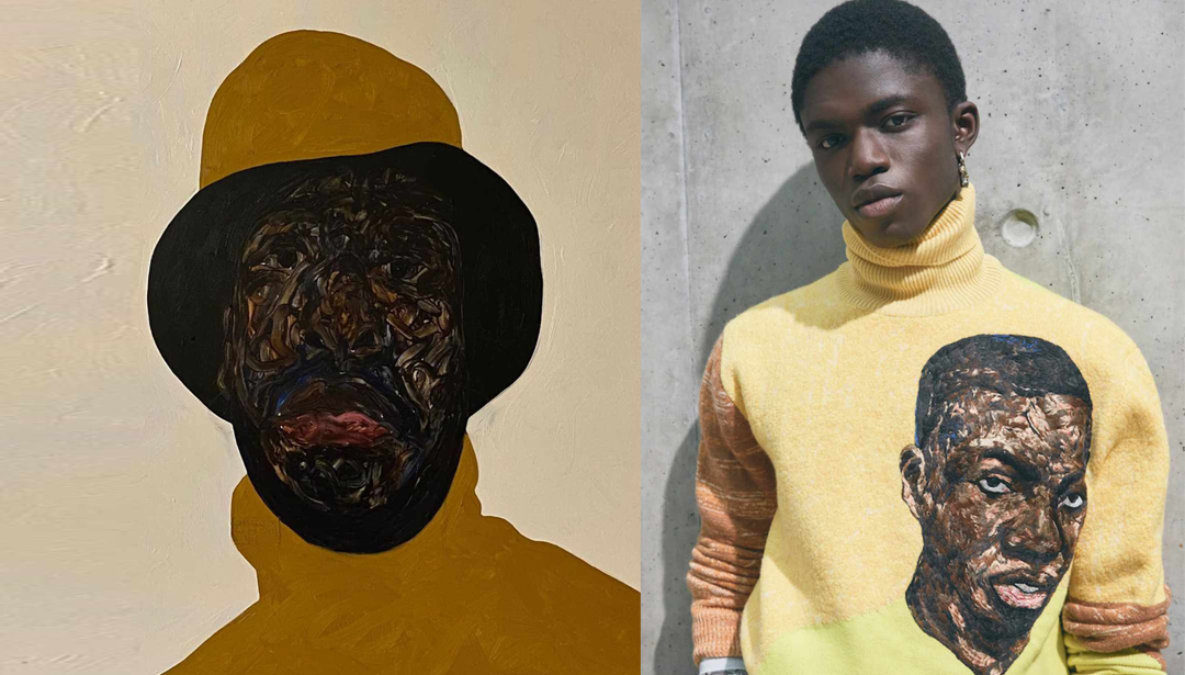 Dior Mens Collabs With Ghanaian Amoako Boafo