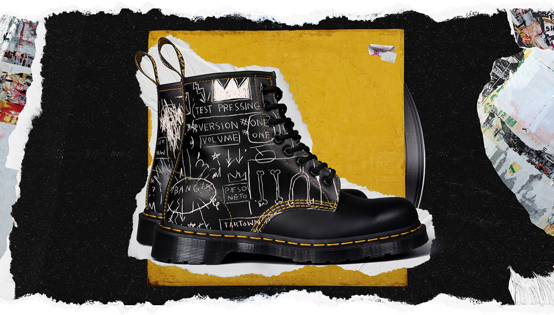 Dr. Martens Team Up with the Basquiat Estate
