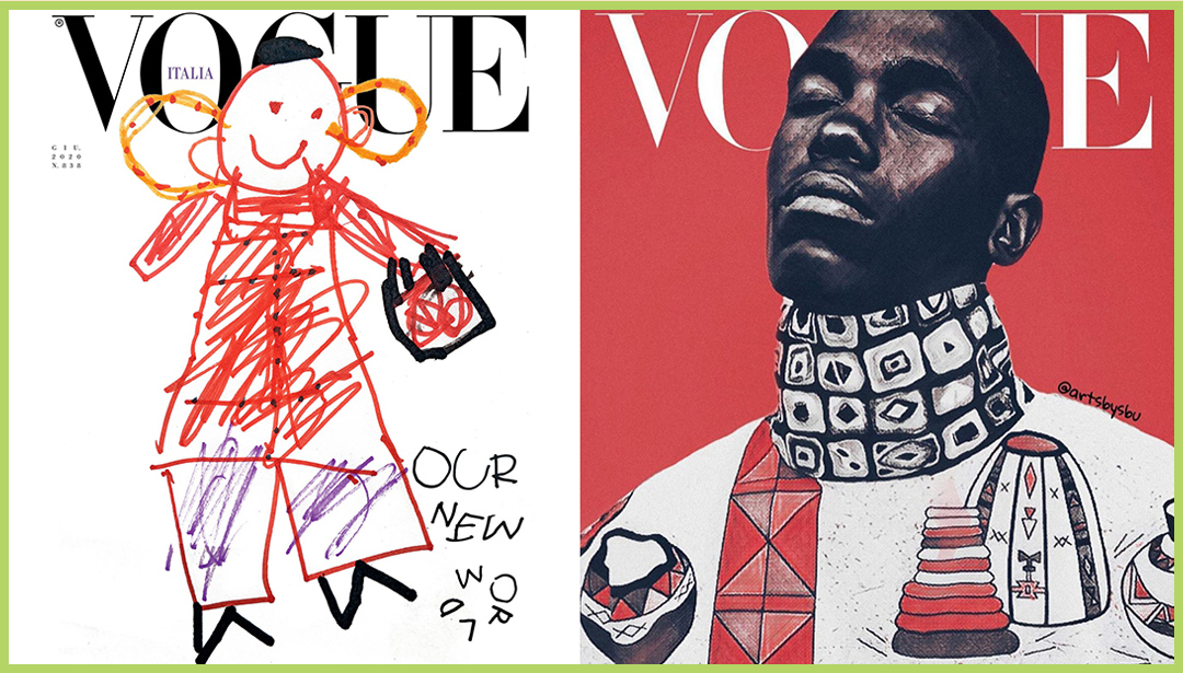 Innovative thinking graces the recent cover of Vogue