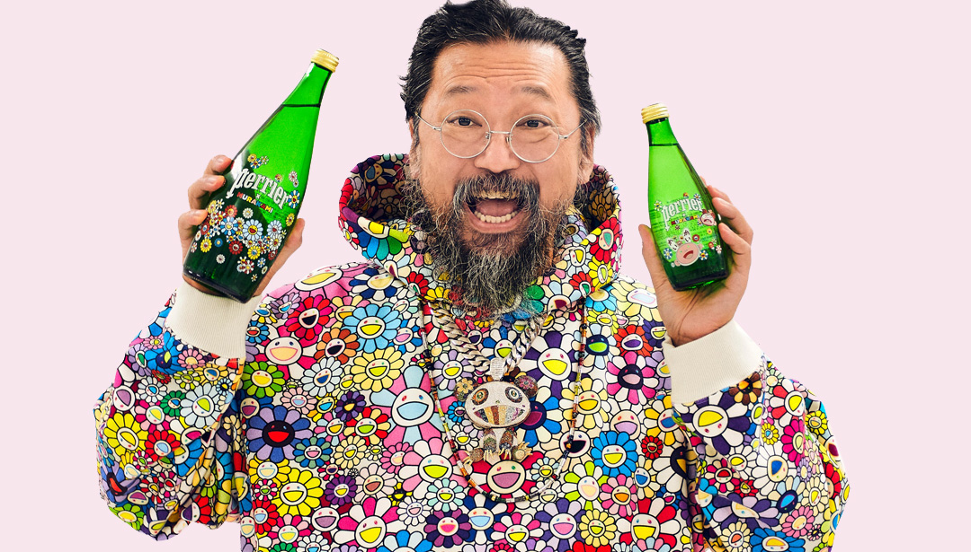 The Art News You Missed While Murakami Releases Arty Water
