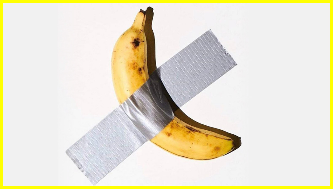 The Art News You Missed While THAT Banana Returned To The Headlines
